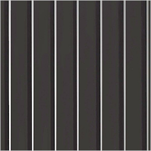 8.5' x 24' Ribbed Roll-Out Garage Floor (Black)