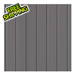 G-Floor 8.5' x 24' Ribbed Roll-Out Garage Floor (Grey)