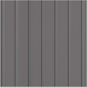 8.5' x 24' Ribbed Roll-Out Garage Floor (Grey)
