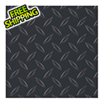 G-Floor 8.5' x 24' Diamond Tread Garage Floor Roll (Black)