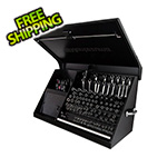 Montezuma 41-Inch Black Portable Toolbox (Weather Resistant)