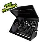 Montezuma 41-Inch Black Portable Toolbox (Weather Resistant)