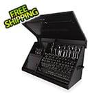 Montezuma 41-Inch Flat Black Portable Toolbox (Weather Resistant)