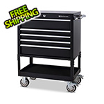 Montezuma 30-Inch 5-Drawer Utility Cart