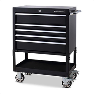 30-Inch 5-Drawer Utility Cart