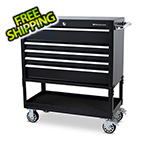 Montezuma 36-Inch 5-Drawer Utility Cart