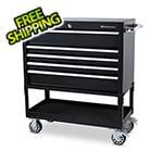 Montezuma 36-Inch 5-Drawer Utility Cart