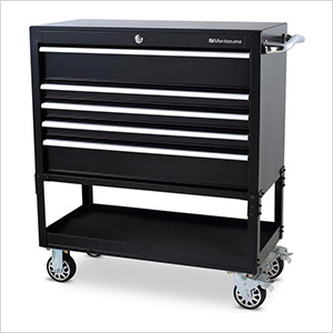 36-Inch 5-Drawer Utility Cart