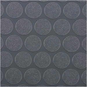 8.5' x 100' Small Coin Roll-Out Trailer Floor (Grey)