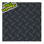 G-Floor 8.5' x 100' Diamond Tread Roll-Out Trailer Floor (Black)