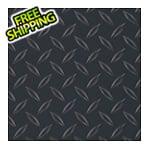 G-Floor 8.5' x 100' Diamond Tread Roll-Out Trailer Floor (Black)