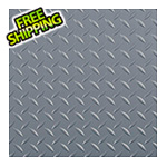 G-Floor 8.5' x 100' Diamond Tread Roll-Out Trailer Floor (Grey)
