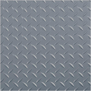 8.5' x 100' Diamond Tread Roll-Out Trailer Floor (Grey)
