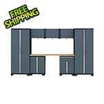 GStandard 8-Piece Garage Cabinet Set in Grey