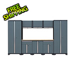 GStandard 9-Piece Garage Cabinet Set in Grey