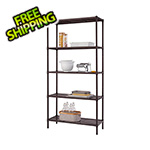 Trinity Bronze 5-Tier Slat Shelving Rack