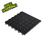 "Speedway Garage Tile 12"" x 12"" Black Garage Floor Tile"