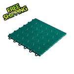 "Speedway Garage Tile 12"" x 12"" Emerald Green Garage Floor Tile"