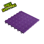 "Speedway Garage Tile 12"" x 12"" Purple Garage Floor Tile"