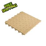 "Speedway Garage Tile 12"" x 12"" Sand Garage Floor Tile"