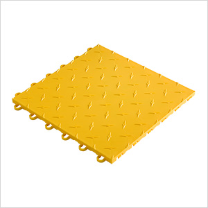 "12"" x 12"" Sunny Yellow Garage Floor Tile"
