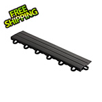 Speedway Garage Tile Black Garage Floor Tile Ramp - Looped