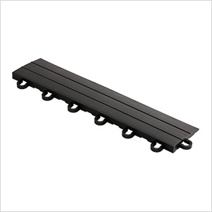 Black Garage Floor Tile Ramp - Looped