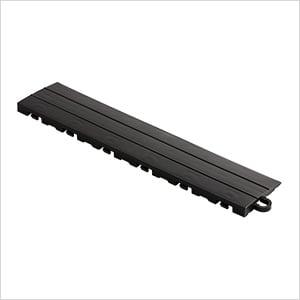 Black Garage Floor Tile Ramp - Pegged