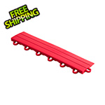 Speedway Garage Tile Bright Red Garage Floor Tile Ramp - Looped