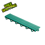 Speedway Garage Tile Emerald Green Garage Floor Tile Ramp - Looped
