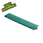 Speedway Garage Tile Emerald Green Garage Floor Tile Ramp - Pegged