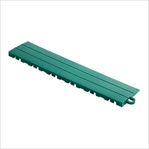 Emerald Green Garage Floor Tile Ramp - Pegged