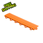 Speedway Garage Tile Orange Garage Floor Tile Ramp - Looped