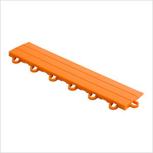 Orange Garage Floor Tile Ramp - Looped