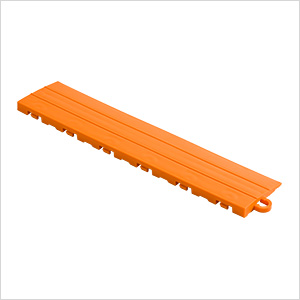 Orange Garage Floor Tile Ramp - Pegged