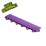 Speedway Garage Tile Purple Garage Floor Tile Ramp - Looped
