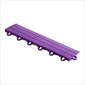 Purple Garage Floor Tile Ramp - Looped