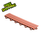 Speedway Garage Tile Rust Red Garage Floor Tile Ramp - Looped