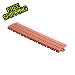 Speedway Garage Tile Rust Red Garage Floor Tile Ramp - Pegged