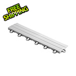 Speedway Garage Tile Silver Garage Floor Tile Ramp - Looped