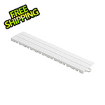 Speedway Garage Tile White Garage Floor Tile Ramp - Pegged