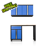 DuraCabinet Pro Series III 4 Piece Blue Garage Cabinet Set