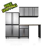 DuraCabinet Pro Series III 6 Piece Grey Garage Cabinet Set