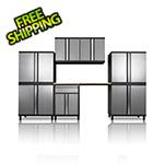 DuraCabinet Pro Series III 8 Piece Grey Garage Cabinet Set