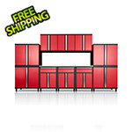 DuraCabinet Pro Series III 11 Piece Red Garage Cabinet Set