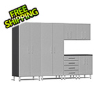 Ulti-MATE Garage Cabinets 6-Piece Cabinet Kit in Stardust Silver Metallic