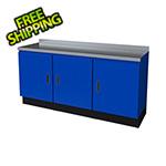 Moduline Select Series 3-Piece Aluminum Garage Cabinet Set (Blue)