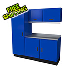 Moduline Select Series 6-Piece Aluminum Garage Cabinet Set (Blue)