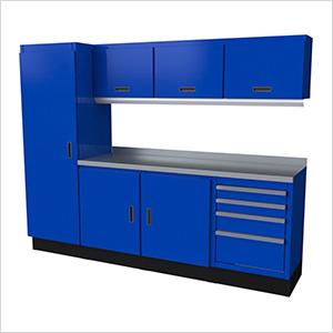 Select Series 8-Piece Aluminum Garage Cabinet Set (Blue)