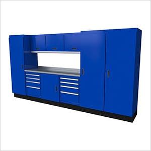 Select Series 10-Piece Aluminum Garage Cabinet Set (Blue)